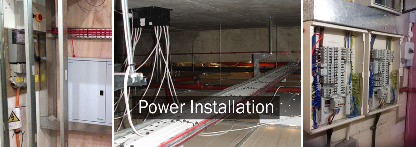 Power design and power installation