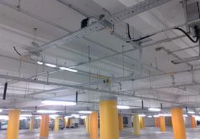 Industrial Lighting Installation