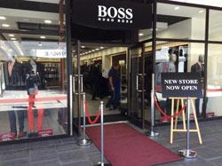Hugo Boss Store Front