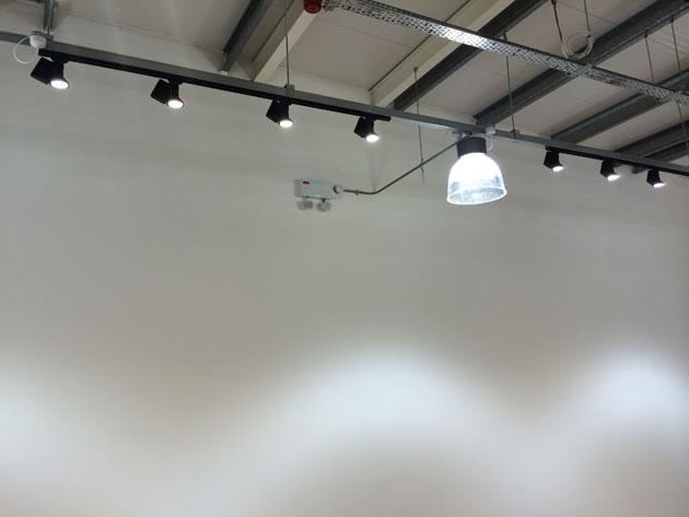 Lighting Detail and Fire Sensor