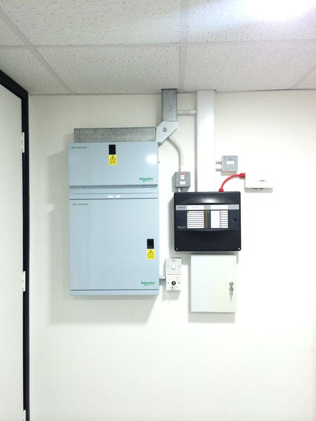 Electrical Controls Main Box